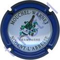 MOUCHEL-WARNET n°03 contour bleu