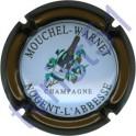 MOUCHEL-WARNET n°12 contour marron métallisé
