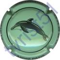 PATIS André n°29c dauphin vert pâle et noir