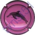 PATIS André n°29e dauphin rose et noir