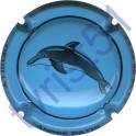 PATIS André n°29d dauphin bleu ciel et noir