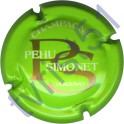 PEHU-SIMONET n°06 fond vert fluo