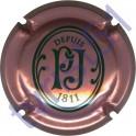 PERRIER-JOUET n°76 rosé et vert foncé