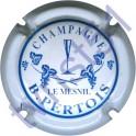 PERTOIS Bernard n°03 blanc et bleu