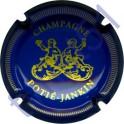 POTIE-JANKIN n°02 bleu et or striée
