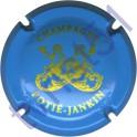 POTIE-JANKIN n°03 bleu pâle et or