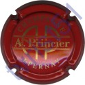 PRINCIER Achille n°13 rouge et or