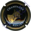 RENARD J.C. n°06 noir et or striée