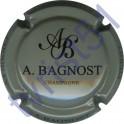 BAGNOST A. gris et noir