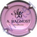 BAGNOST A. rose et noir
