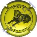 ROBERT FRERES n°16 Idole jaune et noir