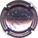 ROY PHILIPPON : fond rosé-violacé