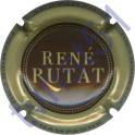 RUTAT René n°08c marron contour kaki clair