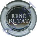 RUTAT René n°08a noir contour blanc