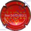 DAVID-HEUCQ Henri : fond rouge