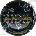 DAVID-HEUCQ Henri n°32 fond noir
