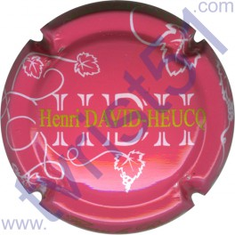 DAVID-HEUCQ Henri n°32d fond rose