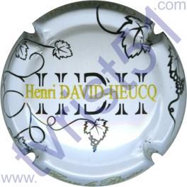DAVID-HEUCQ Henri : fond blanc