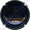 DAMBRON José n°01 noir et or