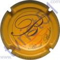 BOUDE-BAUDIN n°05 jaune-orangé et noir