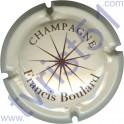 BOULARD Francis n°02 crème et marron