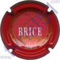 BRICE n°12 contour rouge