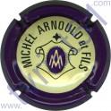 ARNOULD MICHEL n°14a contour violet