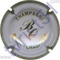 BARDY-CHAUFFERT n°03 blanc cassé et or