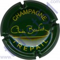 BEAUFORT Claude n°08c vert foncé et jaune