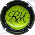 MANCEAUX Roger n°14a vert pomme et noir
