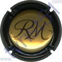 MANCEAUX Roger n°14c or et noir