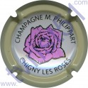 PHILIPPART Maurice n°35 rose contour crème