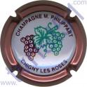 PHILIPPART Maurice n°45 grappe contour rosé