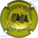 PHILIPPART Maurice n°51 pupitre jaune et noir