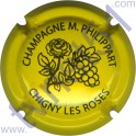 PHILIPPART Maurice n°67 fleur jaune et noir