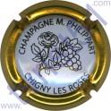PHILIPPART Maurice n°67c fleur contour or