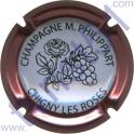 PHILIPPART Maurice n°67d fleur contour rosé