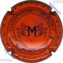 MONDET n°12 orange et noir