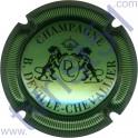 DEVILLE-CHEVALLIER n°13 vert pâle métallisé et noir striée