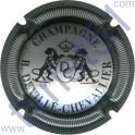 DEVILLE-CHEVALLIER n°14 argent et noir striée