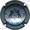 DEVILLE-CHEVALLIER n°15 argent-bleuté et noir striée