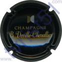 DEVILLE-CHEVALLIER n°19 noir or et argent