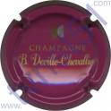 DEVILLE-CHEVALLIER n°20 rose or et argent