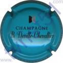 DEVILLE-CHEVALLIER n°22 bleu turquoise noir et argent
