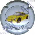 DOURY Philippe n°21 Alpine A110 jaune