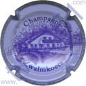 DOURY Philippe n°43d Zwalmkoets fond violet pâle