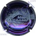 DOURY Philippe n°43e Zwalmkoets fond violet métallisé