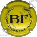BAUDIN : jaune et noir