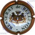 BESSERAT DE BELLEFON n°06a contour cuivre 32mm