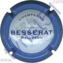 BESSERAT DE BELLEFON n°34 contour bleu 32 mm